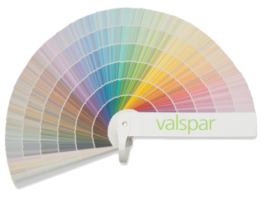 Image of a Valspar Colour Guide