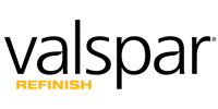 Image of the Valspar Refinish Logo