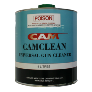 Image of tin of CAM Gun Cleaner 4 Litre