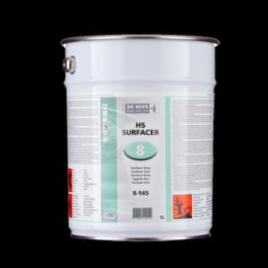Image of a drum of De Beer 8-140 HS Hardener Fast 5 Litre
