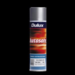 Image of a spraycan of a Dulux Autosolv 1K Etch Primer Grey