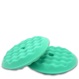 image of green foam buff pad
