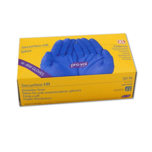 Image of a Pro Val Securitex Gloves - Blue