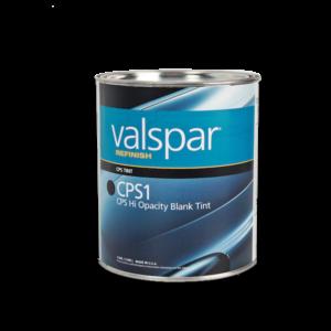 Image of a tin of Valspar Refinish cps1 hi-opacity 3.78 Litre