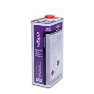 image of valspar industrial AT400 epoxy topcoat activator in 5ltr container