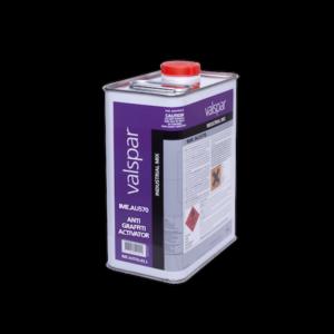 image of valspar industrial AU570 anti grafitti clear coat activator