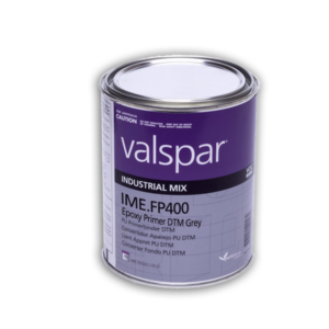 image of fp400 dtm epoxy primer in 3.78ltr container
